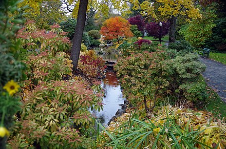 Halifax Public Gardens is a Victorian era public garden in the city. The Gardens was designated as a National Historic Sites of Canada in 1984. CA-halifax-publ-garden-05.jpg