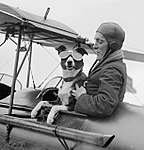 CD Barnard with dog 1926.jpg
