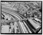 МОСТ СЕСАР ЧАВЕС. СМОТРЕТЬ НА СЕВЕРО-ВОСТОК. - Los Angeles River Bridges, Лос-Анджелес, округ Лос-Анджелес, CA HAER CA-271-21.tif
