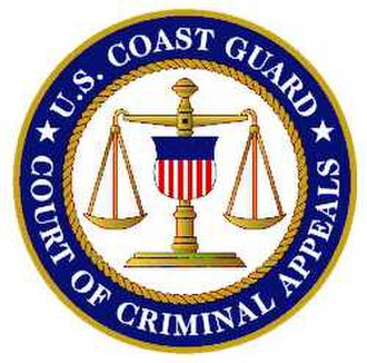 Coast Guard Court of Criminal Appeals - Image: CGCCA seal