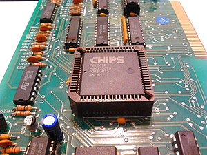 Micro Channel architecture - CHIPS P82C612 in a PLCC package