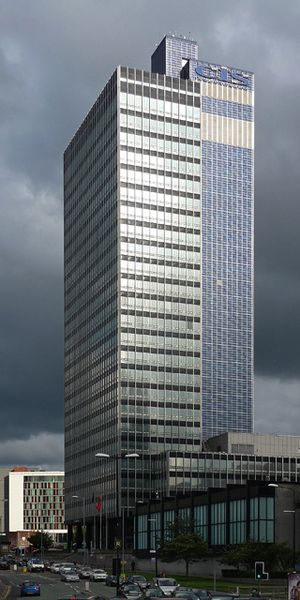 Gordon Tait - The CIS Tower in Manchester, Tait's finest work.