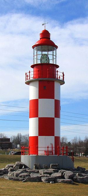 Canada Science and Technology Museum - Lighthouse, originally from Cape Race, Newfoundland, 1856