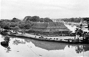 "Penjaringan - The Pasar Ikan (""Fish Market"") in the 1940s"