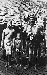 Iban people branch of the Dayak peoples of Borneo