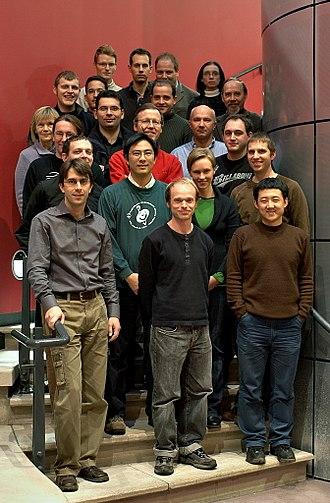 Centre for Quantum Computation - CQC group photo, Cambridge, 2006