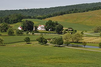 Crooked Run Valley Rural Historic District - Image: CROOKED RUN VALLEY RURAL HISTORIC DISTRICTL FAUQUIER COUNTY
