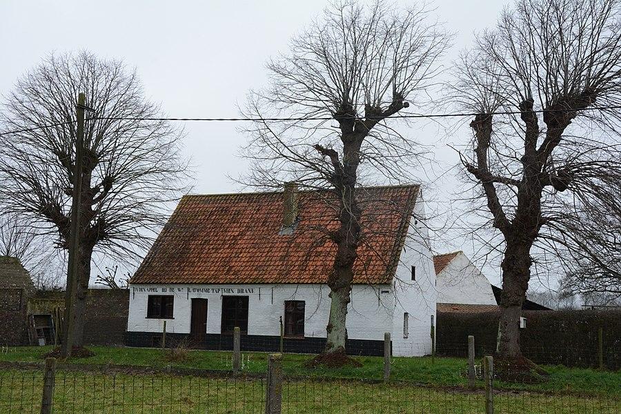 Voormalig café Den Appel, Zonnehoek, Sint-Jan-in-Eremo