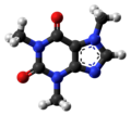 Caffeine molecule ball from xtal (1).png