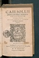 Caii Sollii Apollinaris Sidonii Opera.tif