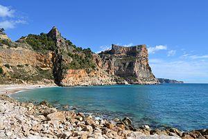 Cap de la Nau - Benitatxell Cliff, Cap de la Nau, near Cumbre del Sol
