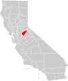 California county map (Calaveras County highlighted).svg