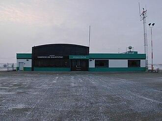 Cambridge Bay Airport - Image: Cambridge Bay terminal