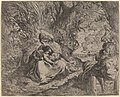 Camillo Procaccini, The Rest on the Flight into Egypt, 1587-1590, NGA 69991.jpg
