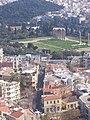 Campo de Zeus (Visto desde la Acropolis), Atenas, Grecia - panoramio.jpg