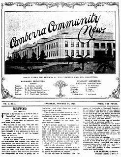 <i>Canberra Community News</i>
