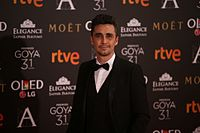 Canco Rodríguez at Premios Goya 2017.jpg