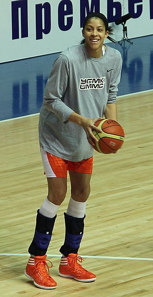 Candace Parker - Parker in 2012