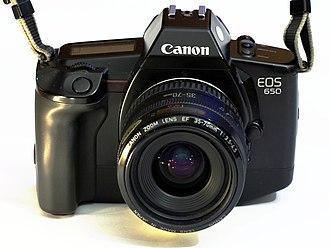 Canon EOS 650 - Image: Canon EOS 650