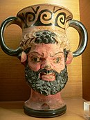 Satir, amfora, 4. stoljeće p.n.e.
