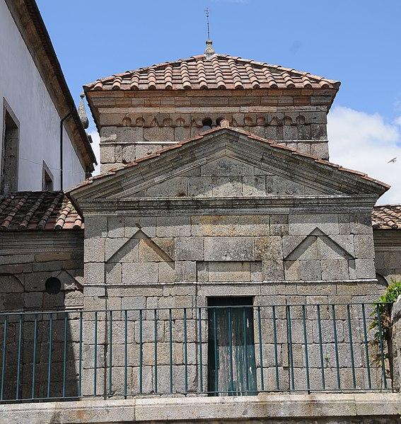 Saint Frutuoso Chapel near Braga.  From An Architectural Tour of Portugal