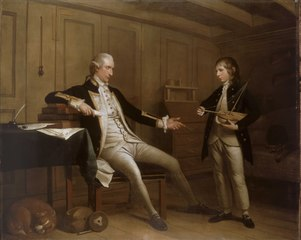 Captain John Bentinck, 1737-75, and his son, William Bentinck, 1764-1813