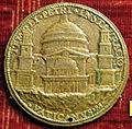 Caradosso, medaglia di giulio II con progetto di san pietro.JPG