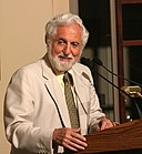 Carl Djerassi HD2004 at podium crop.JPG