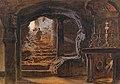 Carl Friedrich Heinrich Werner - The Chapel of the Milk Grotto in Bethlehem.jpg