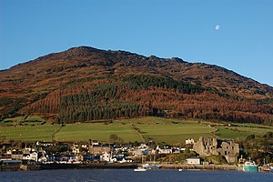 Carlingford auf der Halbinsel Cooley
