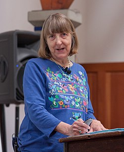 Carol J. Adams at the Intersectional Justice Conference.jpg