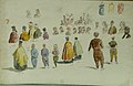 Carol Popp de Szathmari - Foaie de schiţe preoţi, orientali, femei, bărbaţi, tipuri din războiul 1877-1878.jpg