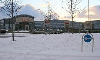 Carrickmines - Carrickmines Retail Park