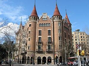 Casa de les Punxes, head quarters of the organization