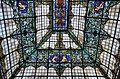 Casa del vescomte de Valdesoto de València, vitrall de l'escala.JPG