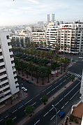 Casablanca from 11th floor of our hotel (5364540051).jpg