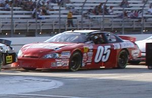 Casey Atwood - 2009 Nationwide car at Milwaukee