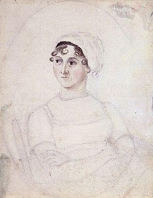 Jane Austen - Image: Cassandra Austen Jane Austen(c.1810) hires