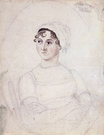 Picture of an author: Jane Austen