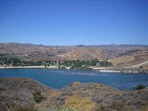 The Amazing Race 26 - The Amazing Race 26 began at Castaic Lake outside of Los Angeles.