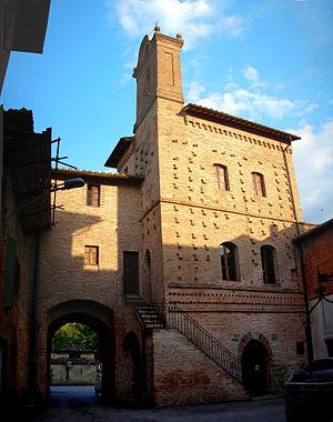 San Niccolò di Celle - Image: Castello san nicolo di celle
