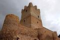 Castillo de Villena barbacana y torre SO (3).JPG