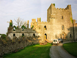 Edward Pennefather - Leap Castle, the family home of Pennefather's wife Susannah Darby.