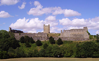 John of Brittany, Earl of Richmond - Richmond Castle was the seat of the earldom of Richmond.