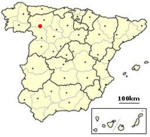 Castrocalbon, Spain location.png