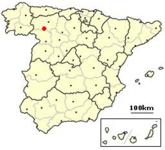 Castrocalbon, Spain location.png