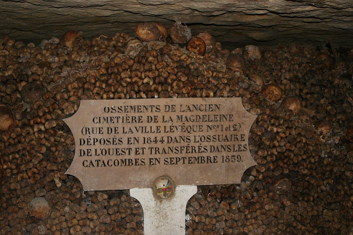 Beroemde Mensen In Parijs.Catacomben Van Parijs Wikipedia
