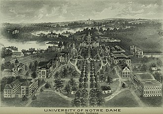 University of Notre Dame - The University of Notre Dame in 1903