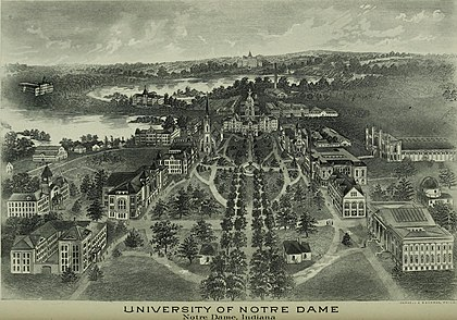 The University of Notre Dame in 1903 Catalogue of the University of Notre Dame (1903) (14782351722).jpg