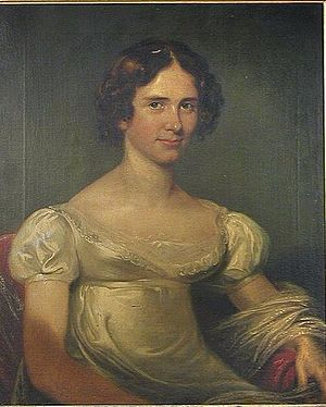 James Losh - Portrait of Cecilia Isabella Losh (Cecilia Gale) (1801–1866), daughter of James Losh